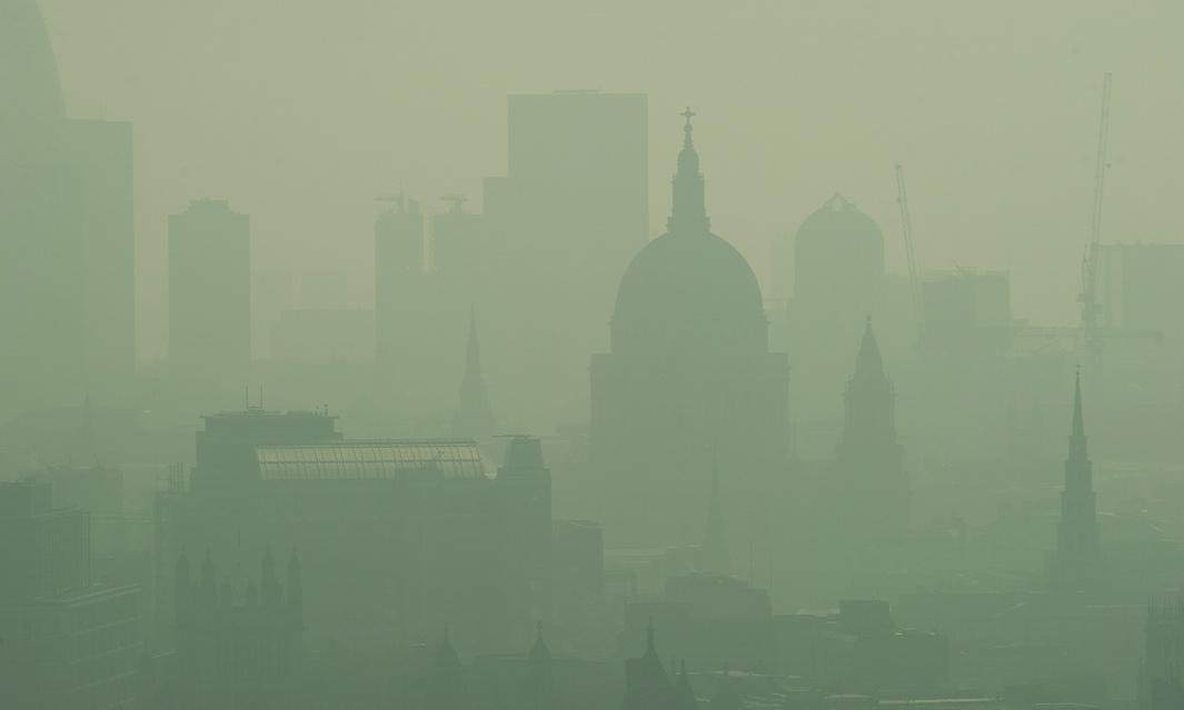smog central london